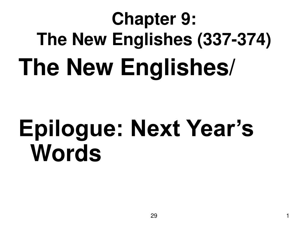 chapter 9 the new englishes 337 374 l.