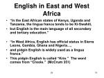 english in east and west africa14