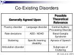 co existing disorders