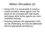 motion simulation 2