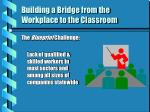 building a bridge from the workplace to the classroom