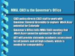 mma caci the governor s office