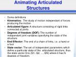animating articulated structures21