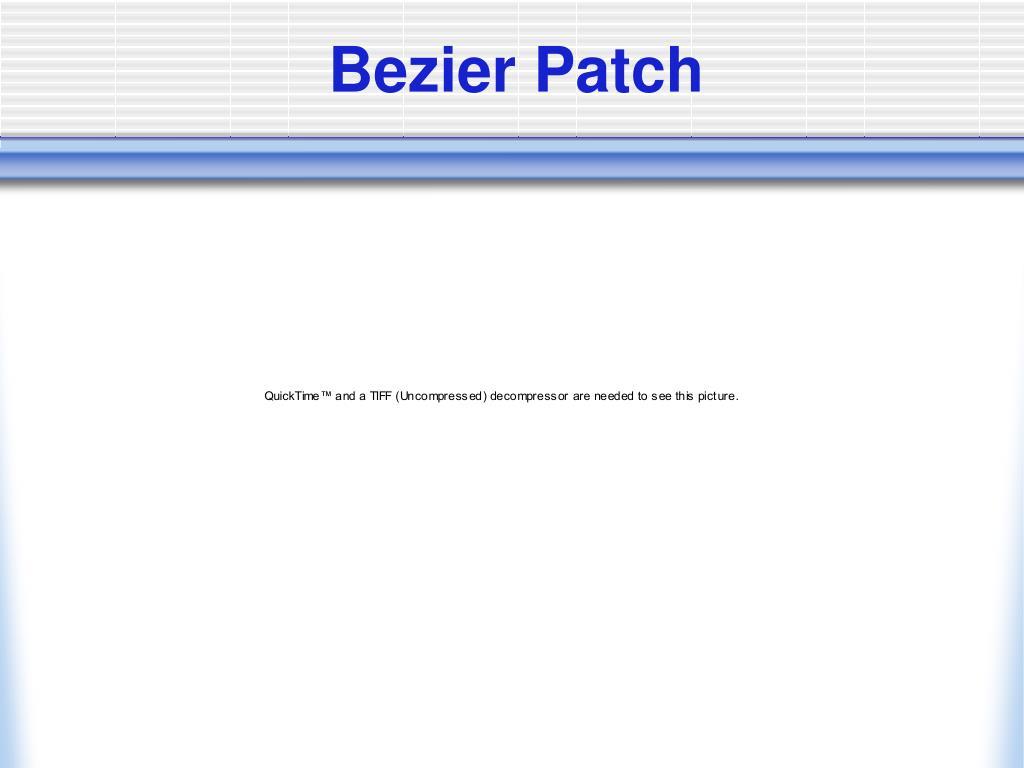 Bezier Patch