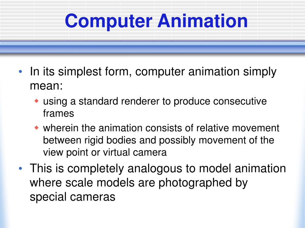 computer animation l.