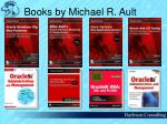 books by michael r ault