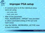 improper pga setup64