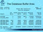 the database buffer area38