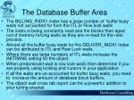 the database buffer area39