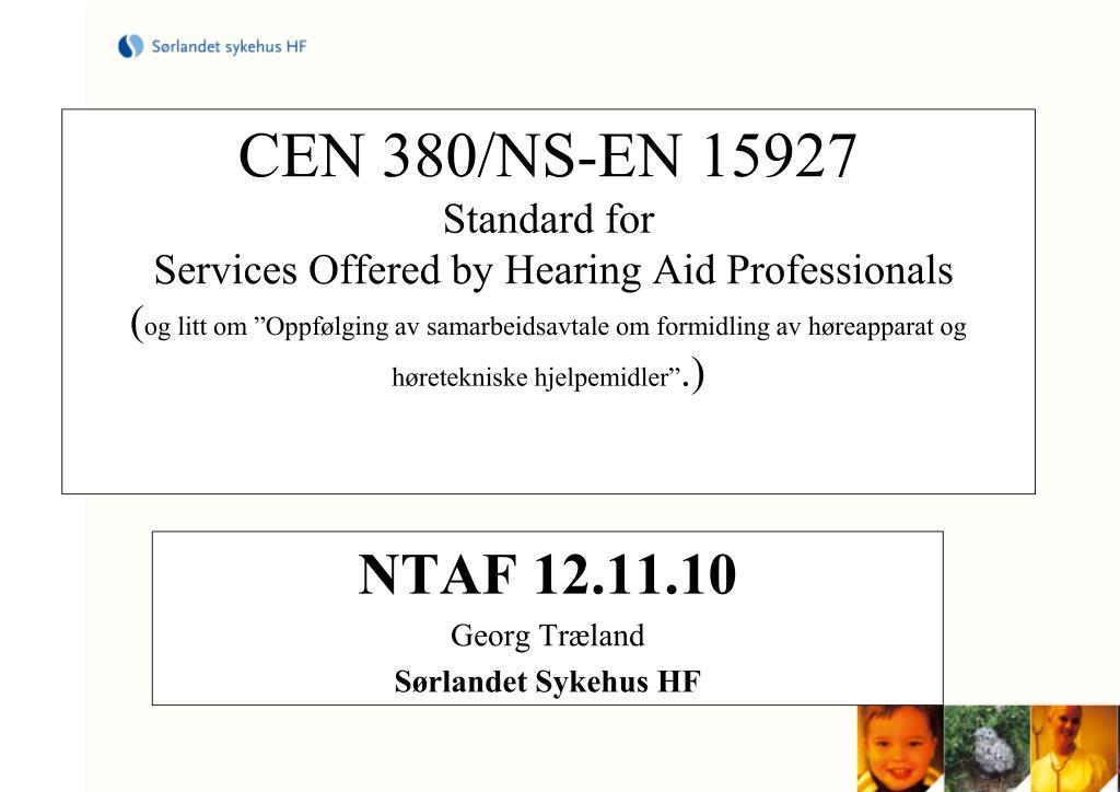 ntaf 12 11 10 georg tr land s rlandet sykehus hf l.