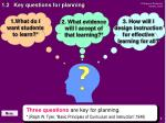 1 2 key questions for planning