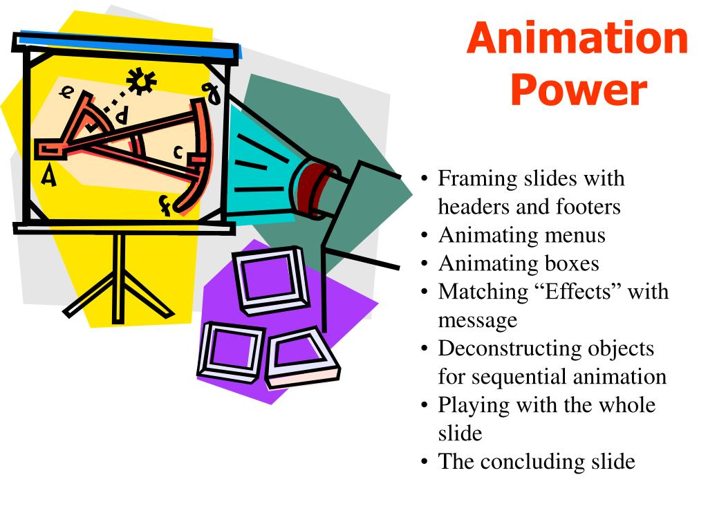 animation power l.