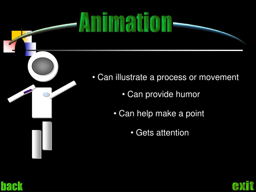 Can illustrate a process or movement