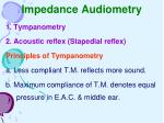 impedance audiometry34