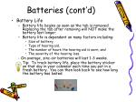 batteries cont d