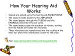 how your hearing aid works