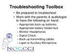 troubleshooting toolbox