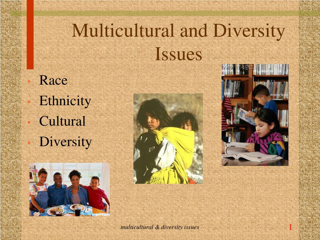multicultural and diversity issues l.