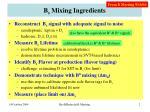 b s mixing ingredients