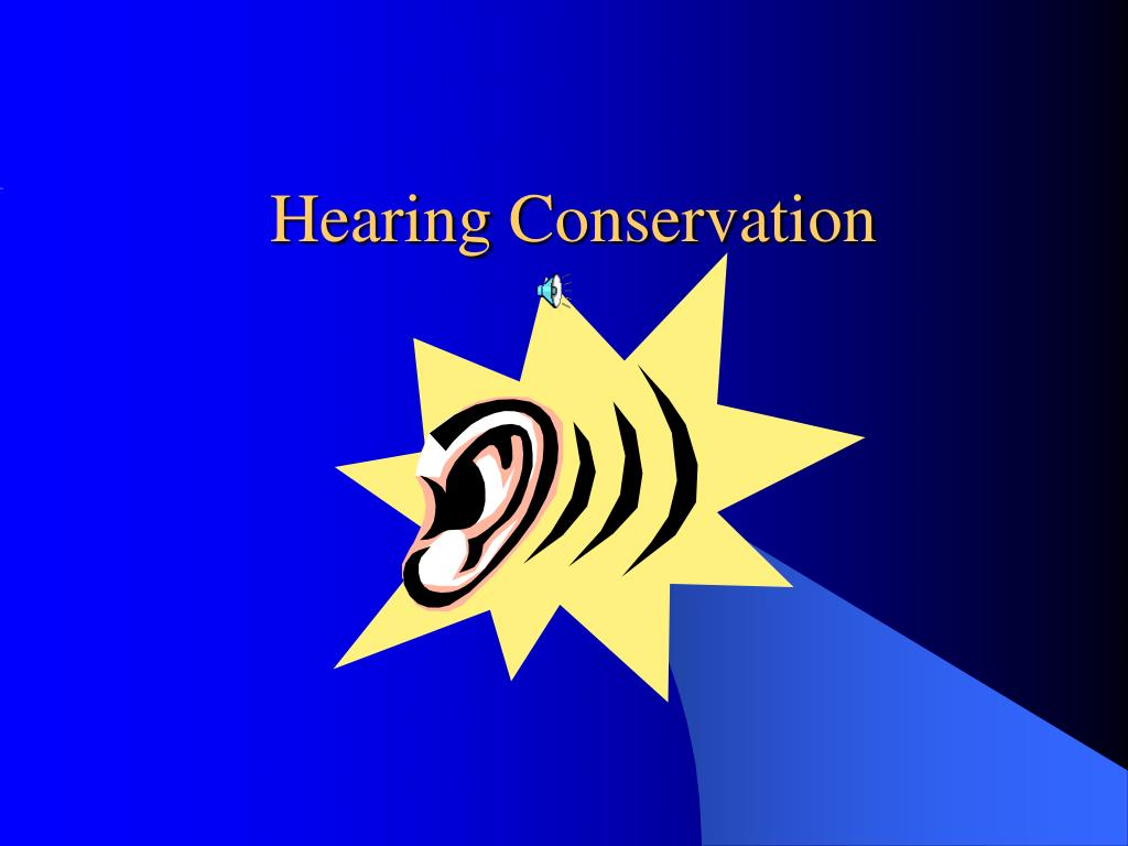 hearing conservation l.
