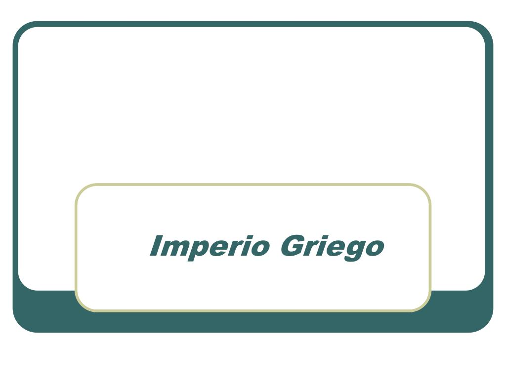 imperio griego l.