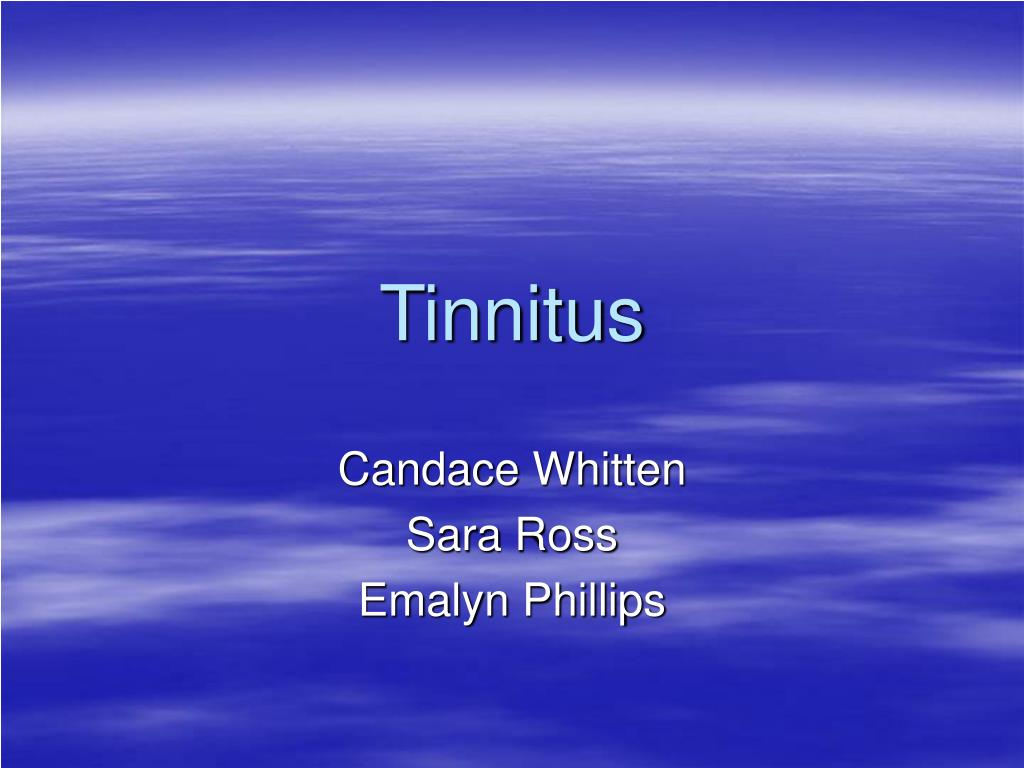 tinnitus l.