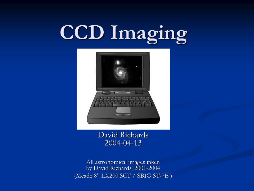 ccd imaging l.