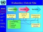 evaluaci n y ciclo de vida