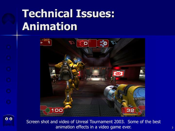 Technical issues animation3