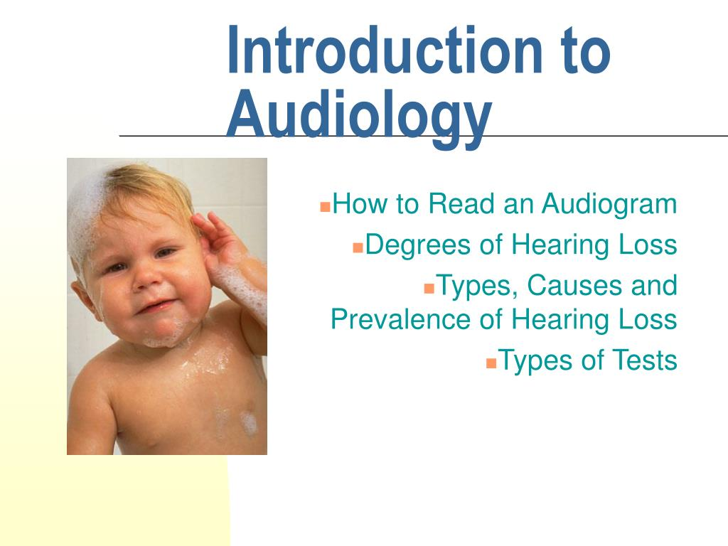 introduction to audiology l.
