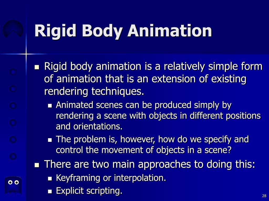 Rigid Body Animation