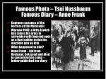 famous photo tsvi nussbaum famous diary anne frank