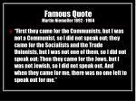 famous quote martin niemoller 1892 1984