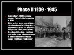 phase ii 1939 1945