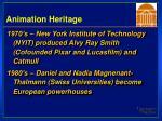 animation heritage37