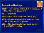 animation heritage38