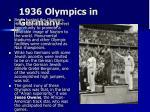 1936 olympics in germany