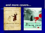 and more covers
