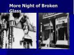 more night of broken glass