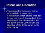 rescue and liberation
