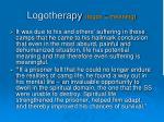 logotherapy logos meaning