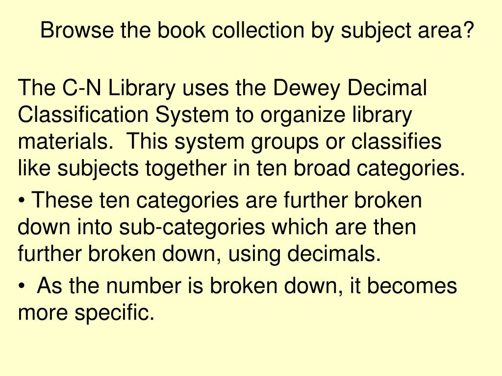browse the book collection by subject area l.