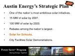 austin energy s strategic plan