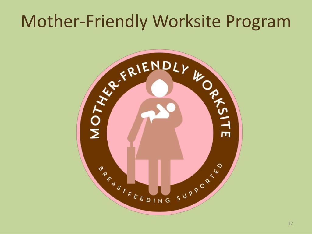 Mother-Friendly Worksite Program
