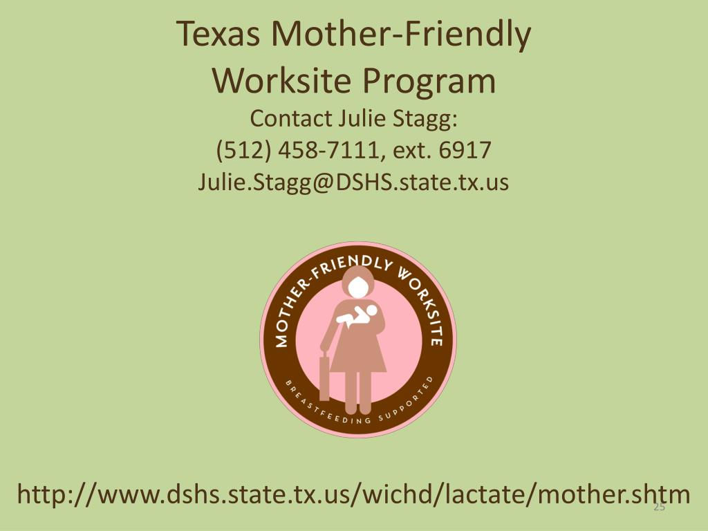 Texas Mother-Friendly