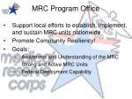 mrc program office