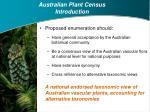 australian plant census introduction