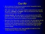 our air