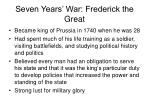 seven years war frederick the great