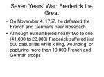 seven years war frederick the great12